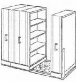 Jual Mobile File System Manual Elite MF-100-3B (16 CPTS) Murah Di Surabaya
