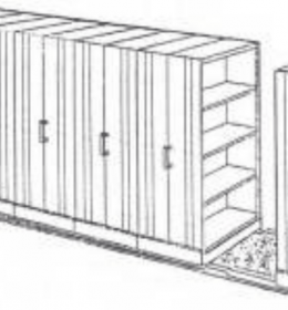 Jual Mobile File System Manual Elite MF-100-6B (40 CPTS) Murah Di Surabaya